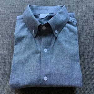 Grey chambray shirt